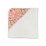 Pink Paisley Baby Towel