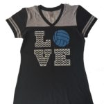 N&P - sport Tee LOVE volleyball